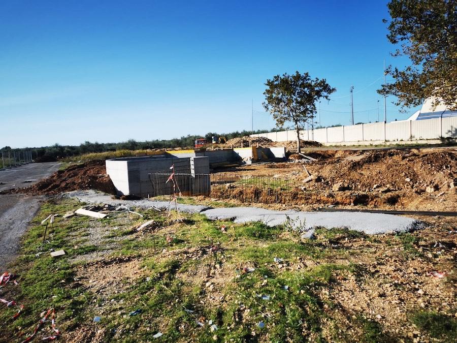 Centro comunale raccolta rifiuti: partiti i lavori in zona PalaLivatino. Pronto nel 2021