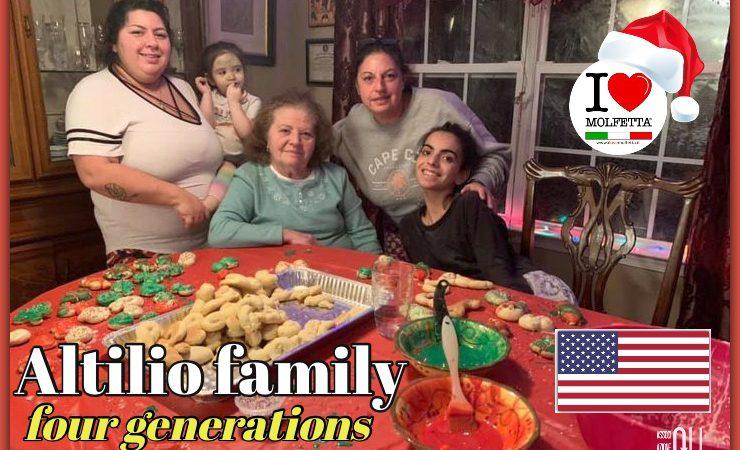 Quattro generazioni di emigrati molfettesi in uno scatto indimenticabile